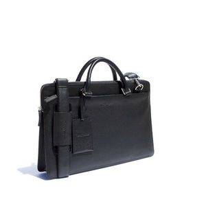 Rich Mbariket Men's Genuine Leather Briefcase Bag